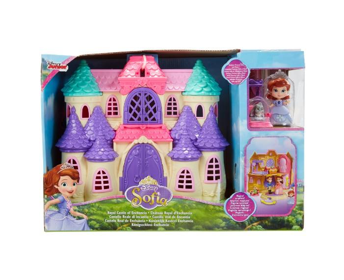 01294TT Sofia Royal Castle of Enchancia IP, שידות דיסני, דיסני קורקינטים, דיסני שעונים