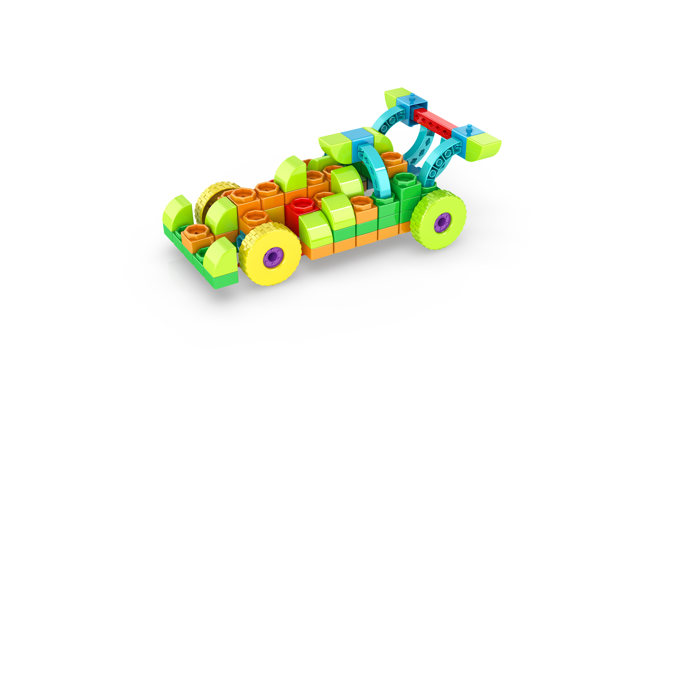, 1 FORMULA RACER 1, משחקי חשיבה לילדים engino, משחקים לגיל הרך playgro, משחק הרכבות אנג'ינו, משחקי רכבות