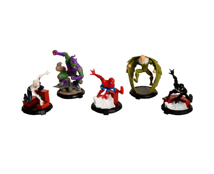 , 71589Disney Figurine Set Spiderman 1039