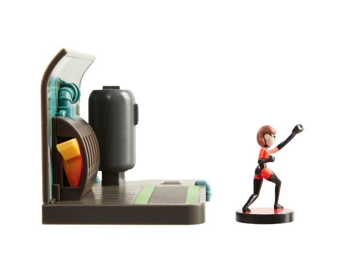 74931Incredibles Lab Assault Playset 04, בובות של גיבורי על דיסני, משחקי בובות, משחקי בנים starwars, משחקים לבנים