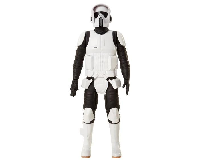 , 79430ABF SW 18in Scout Trooper 00 Copy, משחקים לילדים מלחמת הכוכבים, משחקי רובוטים, משחקי חברה, משחקי בנים starwars