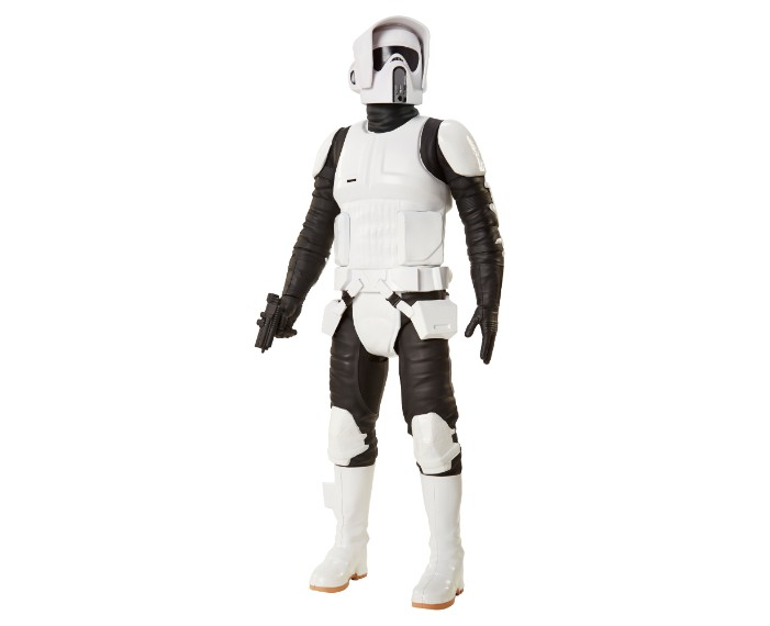 , 79430ABF SW 18in Scout Trooper 01, משחקים לילדים מלחמת הכוכבים, משחקי רובוטים, משחקי חברה, משחקי בנים starwars