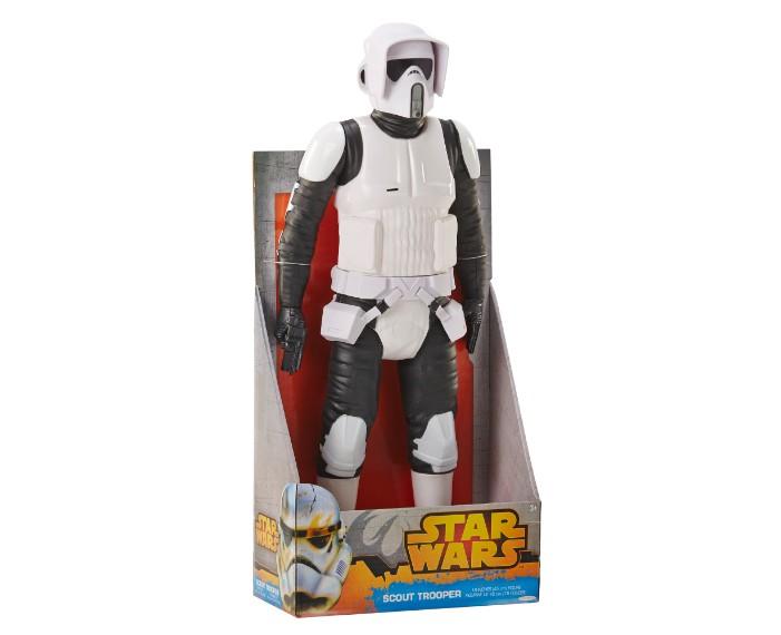 , 79430ABF SW Scout Trooper 18in IP 01, משחקים לילדים מלחמת הכוכבים, משחקי רובוטים, משחקי חברה, משחקי בנים starwars
