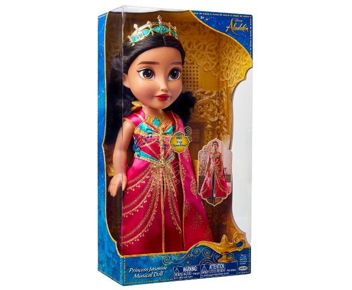 , 86131Aladdin Princess Jasmine Musical Doll IP 01, בובות של נסיכות דיסני, משחקים של מכוניות, משחקים של ברבי, משחקים של אנה ואלזה