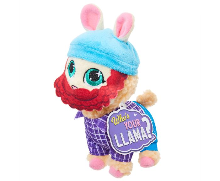, 86431WhosYourLlama Llama Plush Wv2 LumbeJack IP, גטר קונסיומר