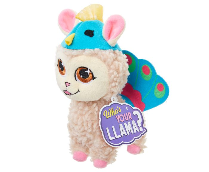 , 86431WhosYourLlama Llama Plush Wv2 Peacock IP, גטר קונסיומר