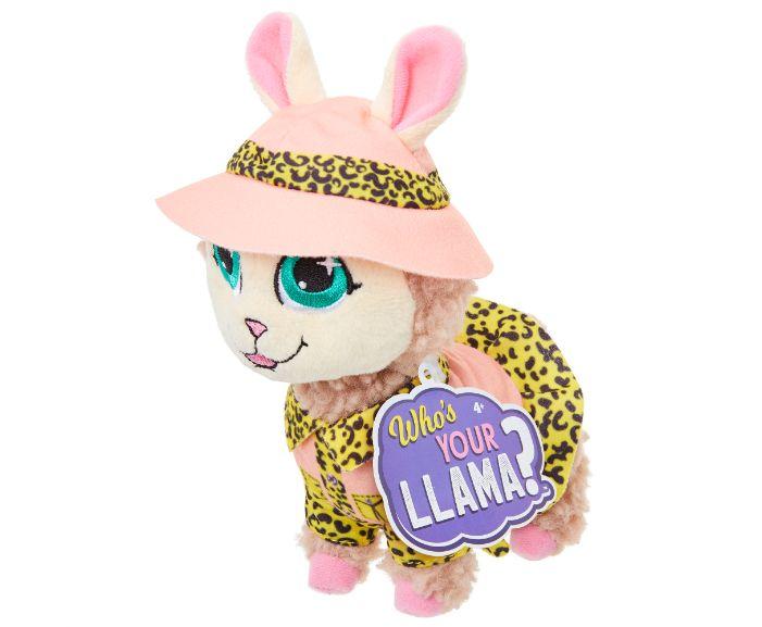 , 86431WhosYourLlama Llama Plush Wv2 Safari IP, גטר קונסיומר