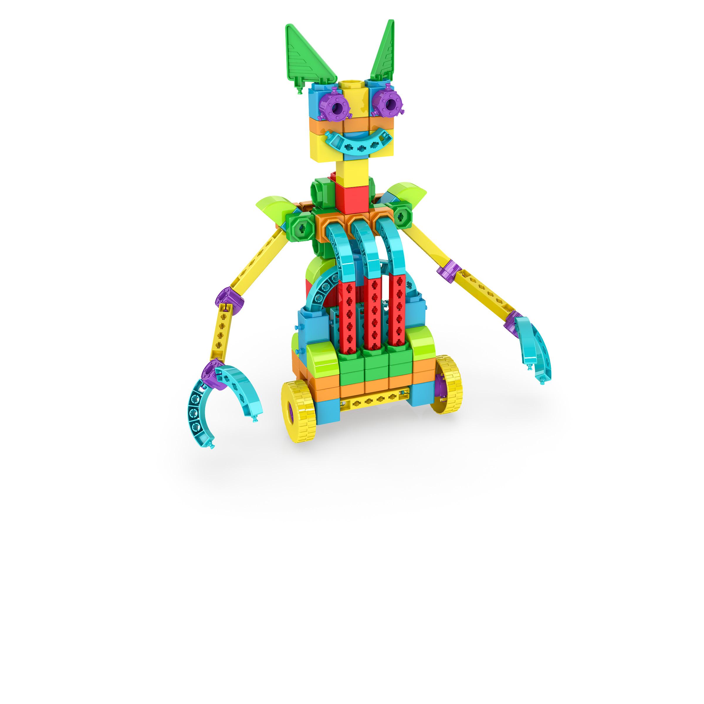 , Humanoid 1, משחקי חשיבה לילדים engino, משחקים לגיל הרך playgro, משחק הרכבות אנג'ינו, משחקי רכבות
