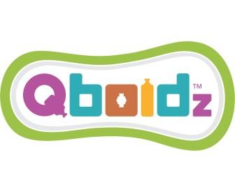Qboidz logo, משחקי חשיבה לילדים קטנים, יצירות, משחקי רכבות, משחקי חשיבה