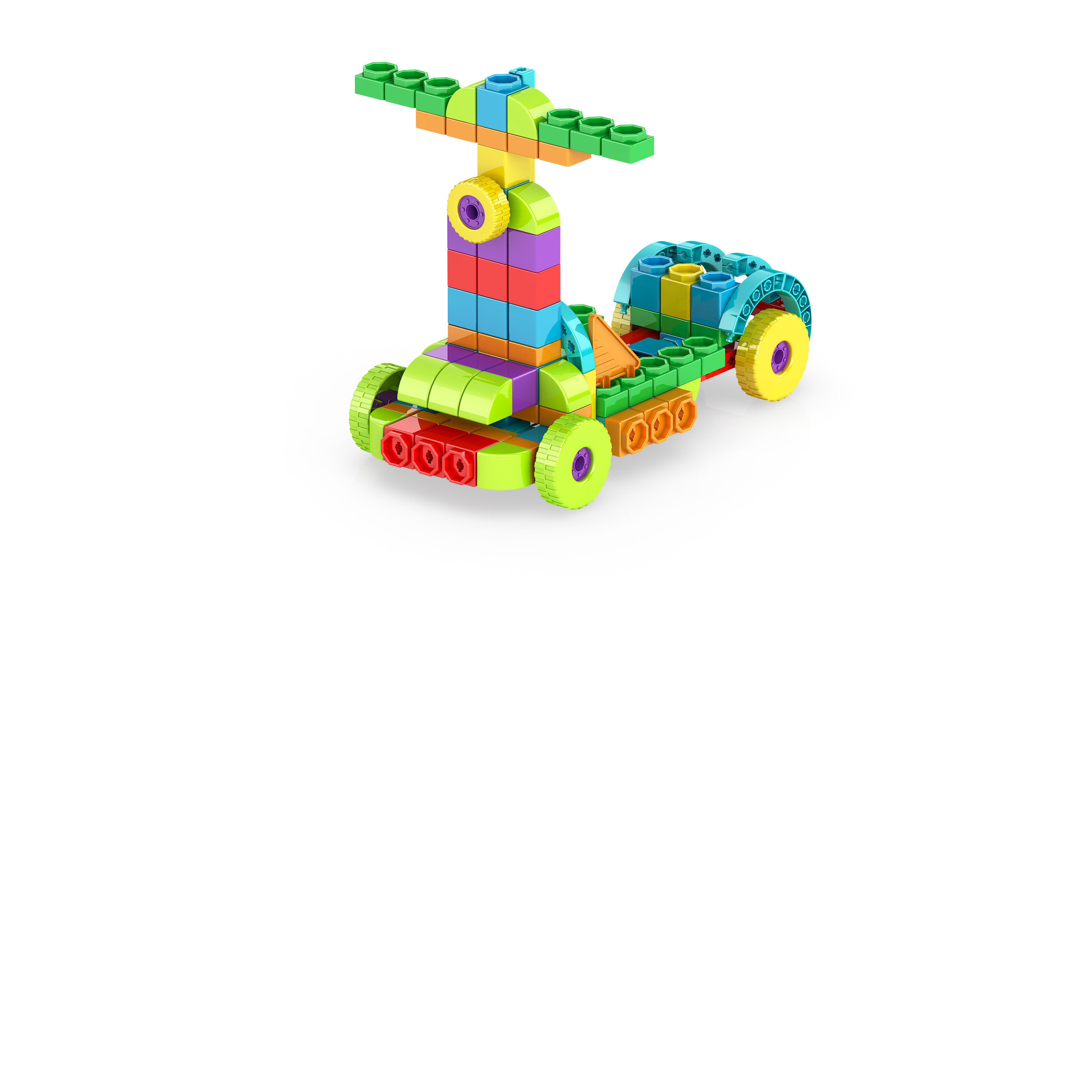 , Scooter 3, משחקי חשיבה לילדים engino, משחקים לגיל הרך playgro, משחק הרכבות אנג'ינו, משחקי רכבות