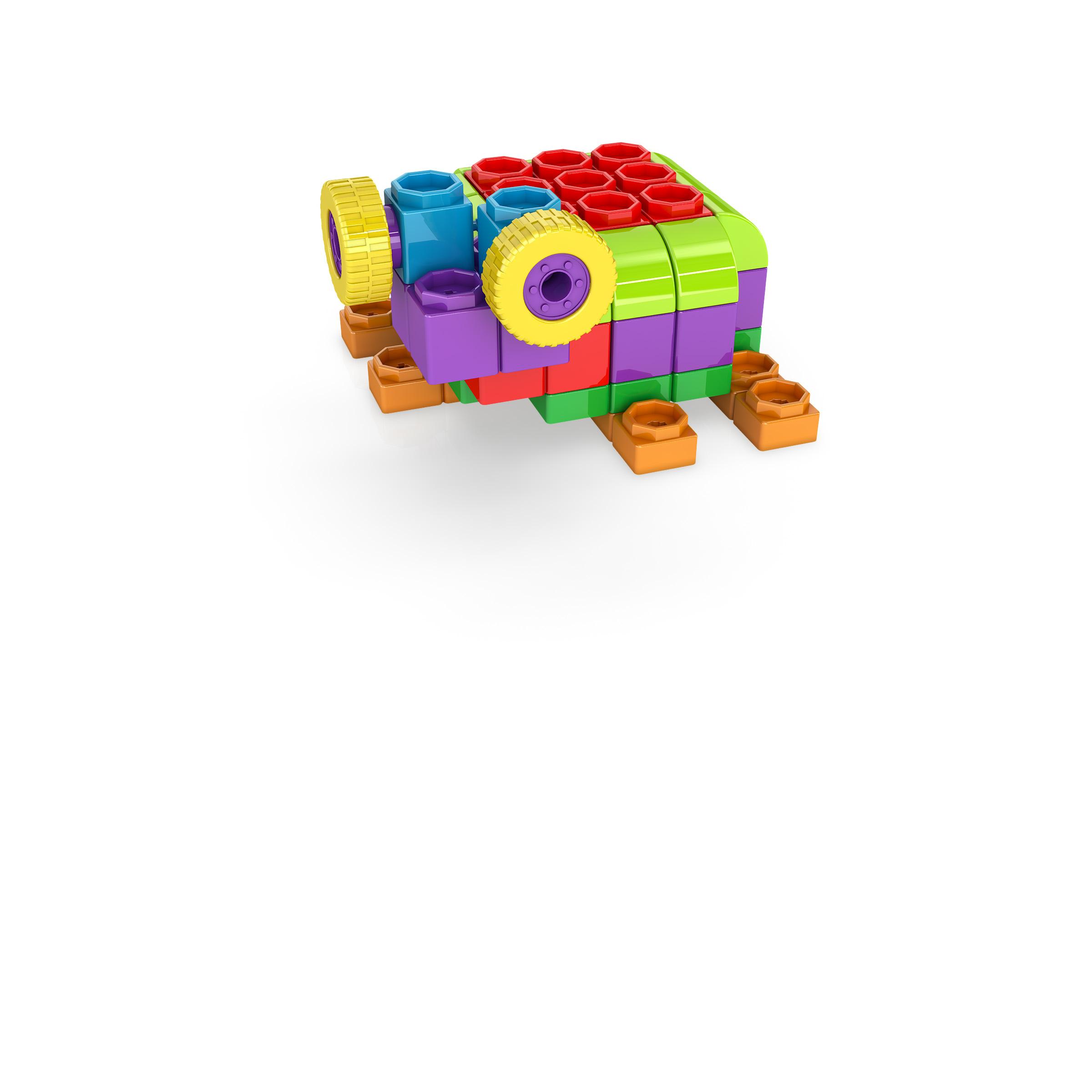 , TURTLE, משחקי חשיבה לילדים engino, משחקים לגיל הרך playgro, משחק הרכבות אנג'ינו, משחקי רכבות