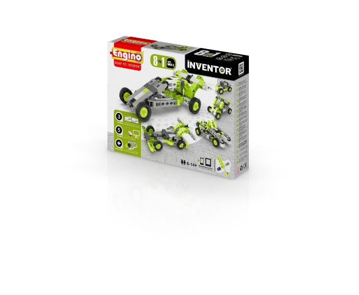 YENB0831, משחקי חשיבה אנג'ינו, משחקי חשיבה לילדים engino, משחקי קופסא engino, משחקי חשיבה