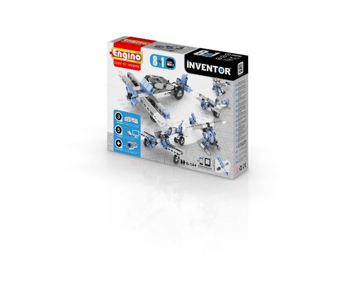 YENB0833, משחקי חשיבה אנג'ינו, משחקי חשיבה לילדים engino, משחקי קופסא engino, משחקי חשיבה