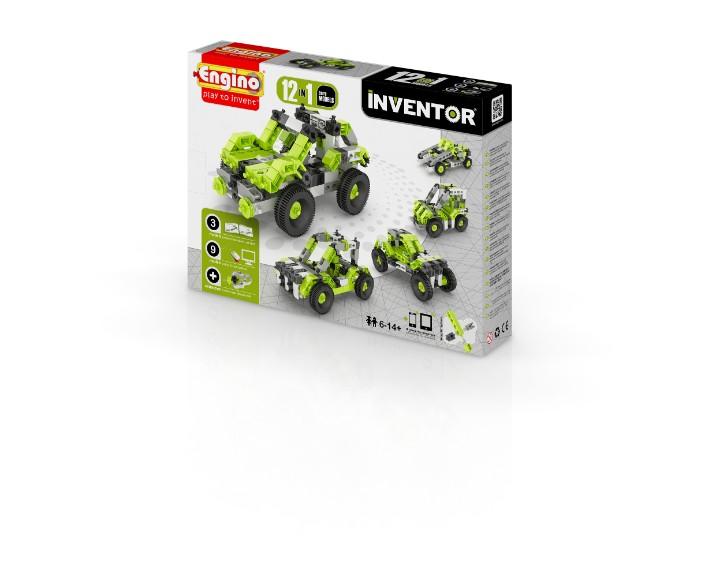 YENC1231, משחקי חשיבה אנג'ינו, משחקי חשיבה לילדים engino, משחקי קופסא engino, משחקי חשיבה