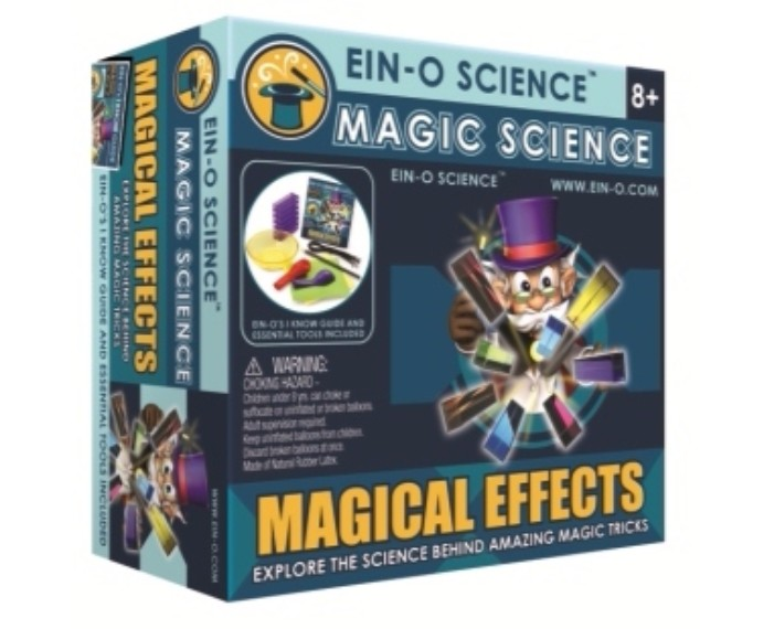 YIA160286, משחק חשיבה פרופסור איינו, קסמים בקלפים איינו, ניסוי מדעי לילדים איינו, קסם של מדע פרופסור איינו