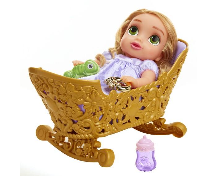 disney princess royal rapunzel baby cradle set 824A67A8 pt02 zoom, פינת איפור לילדות דיסני, שידות איפור זולות דיסני, שידות דיסני, דיסני קורקינטים