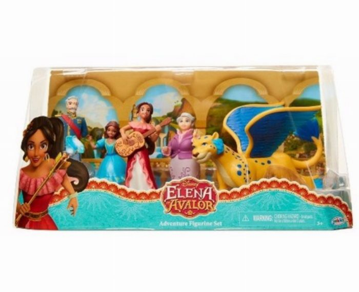 elena figurine set e1511167199326, תחפושות דיסני, דיסני קורקינטים, דיסני שעונים