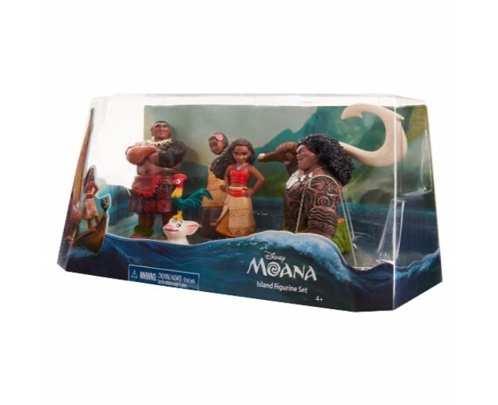 moana figurine set, תחפושות דיסני, דיסני קורקינטים, דיסני שעונים